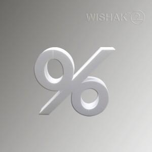 Вивіски таблички етикетки Вивіска з об'ємними літерами з пінопласту  %P 480/600