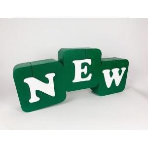 Вивіски таблички етикетки Вивіска з об'ємними літерами з пінопласту NewPF