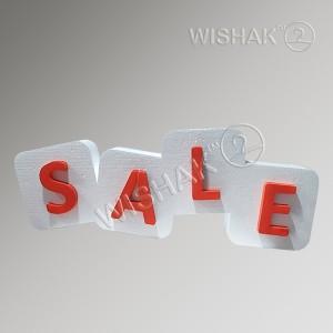 Вивіски таблички етикетки Вивіска з об'ємними літерами з пінопласту SaleP110