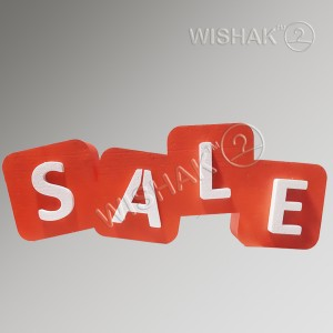 Вивіски таблички етикетки Вивіска з об'ємними літерами з пінопласту SalePF110