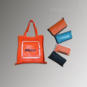 Складна сумка для покупок (Еко-сумка)