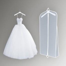 Чохол для одягу з клином прозорий ПВХ